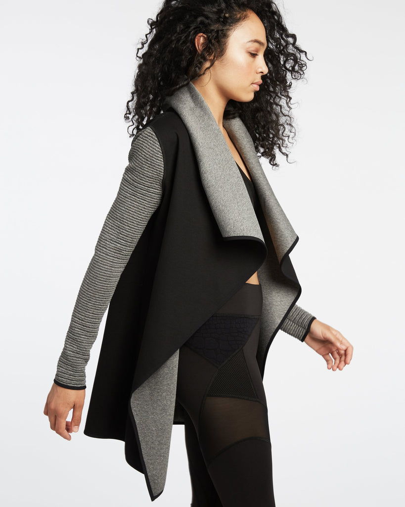 MICHI - MICHI Dusk Wrap Jacket - SPORTLES.com
