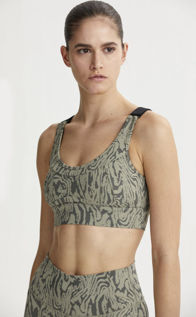 VARLEY Edris Bra Distorted Grain | Shop at SPORTLES.com