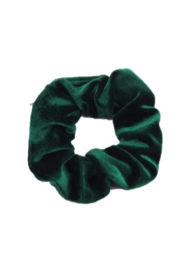 SPORT.LES Velvet Scrunchie Forest | Shop Online SPORTLES.com