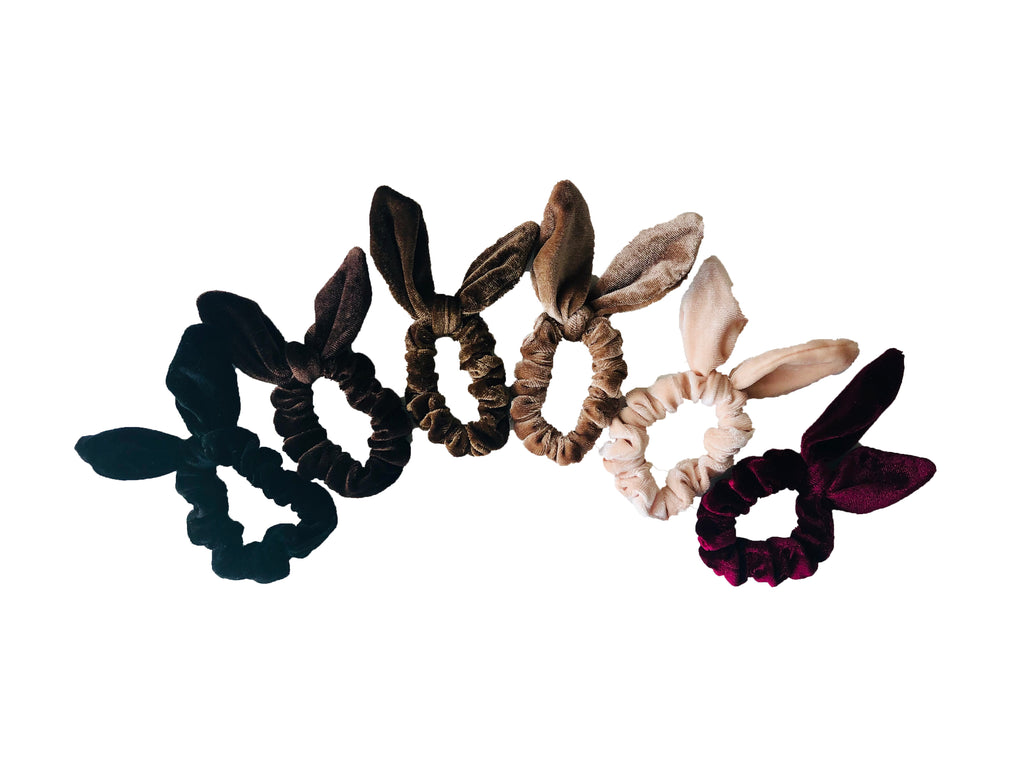 SPORT.LES - SPORT.LES Bow Scrunchies Brown - SPORTLES.com