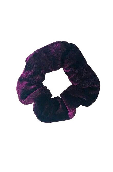 SPORT.LES Velvet Scrunchie Purple - SPORTLES.com