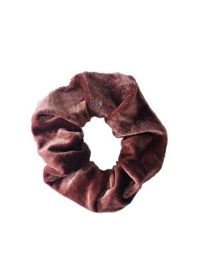 SPORT.LES Velvet Scrunchie Raisin - SPORTLES.com