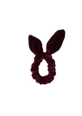 SPORT.LES - SPORT.LES Bow Scrunchies Wine Red - SPORTLES.com