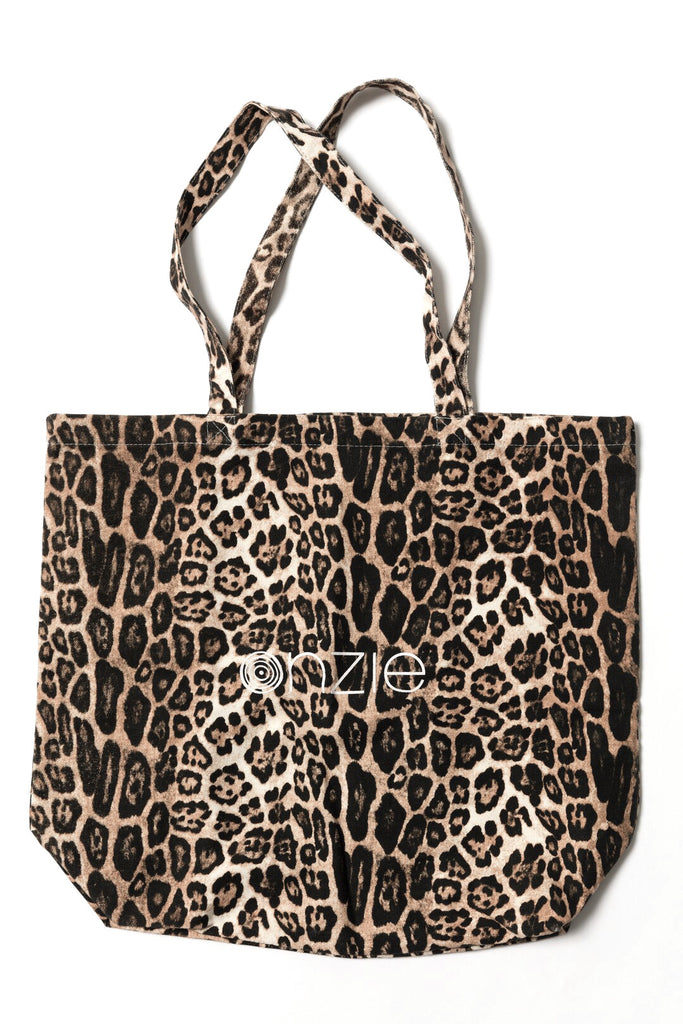 ONZIE Canvas Tote Bag Leopard | Shop Online SPORTLES.com