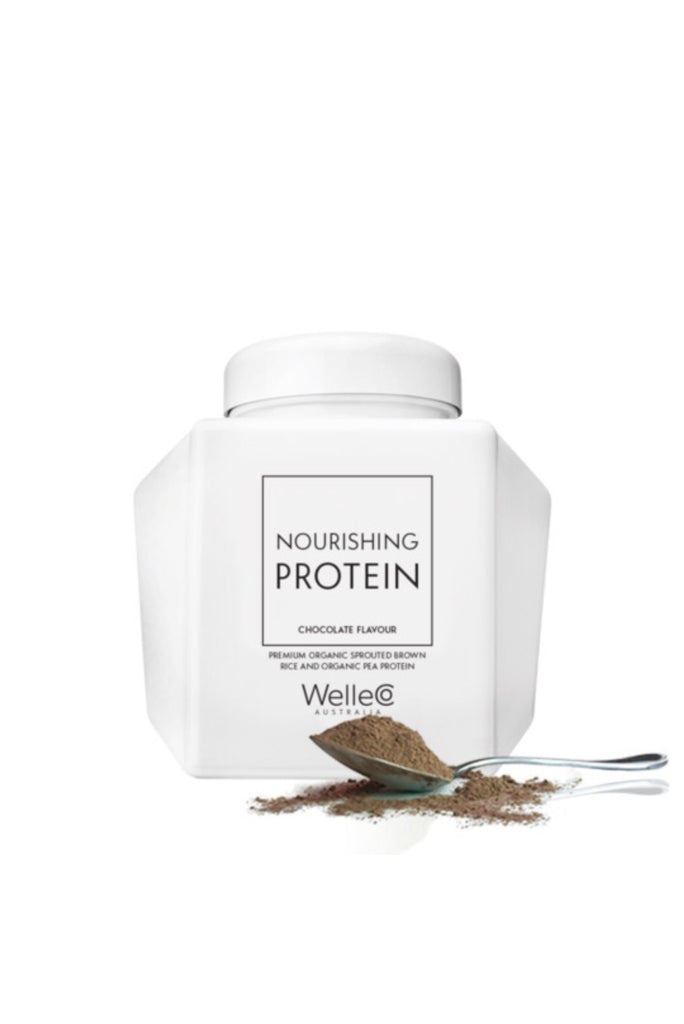 WELLECO Nourishing Protein Chocolate Caddy | Shop Online Wellness & Beauty | SPORTLES.com