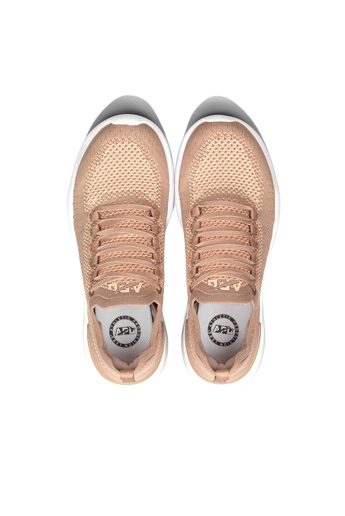 APL Women's Techloom Breeze Almond / Neon Peach | Shop Online at sportles.com