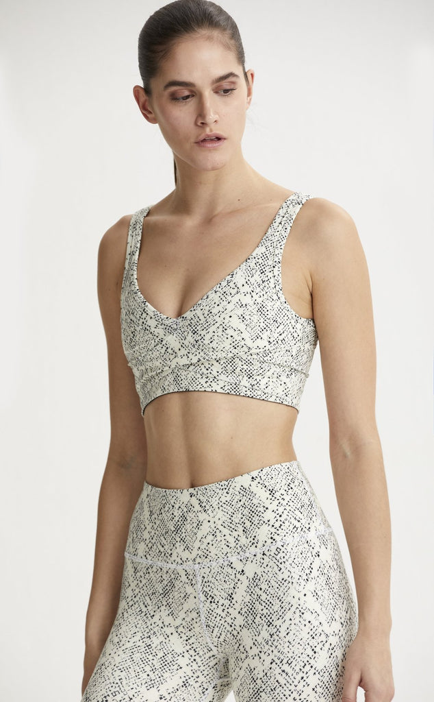 VARLEY Kellam Bra Mosaic Snake | Shop at SPORTLES.com