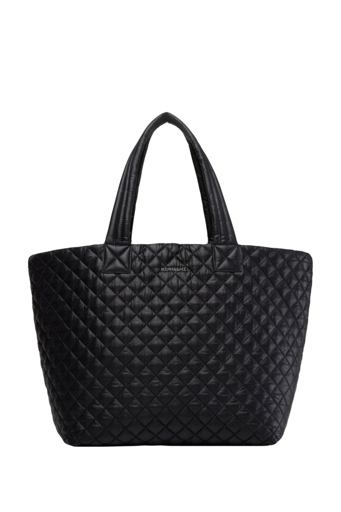 MZ WALLACE - MZ WALLACE Large Metro Tote Black - SPORTLES.com