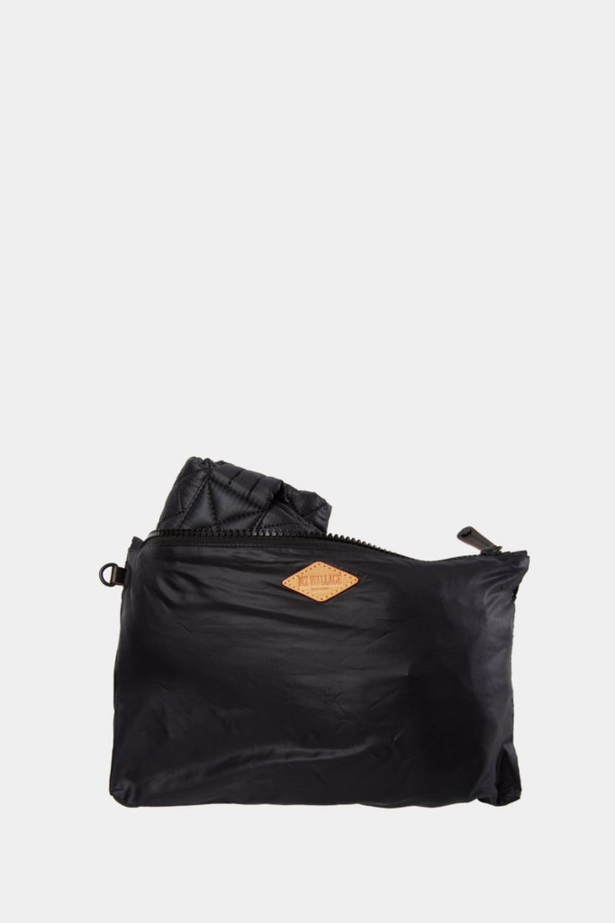MZ WALLACE Large Metro Tote Black in a bag- sportles.com