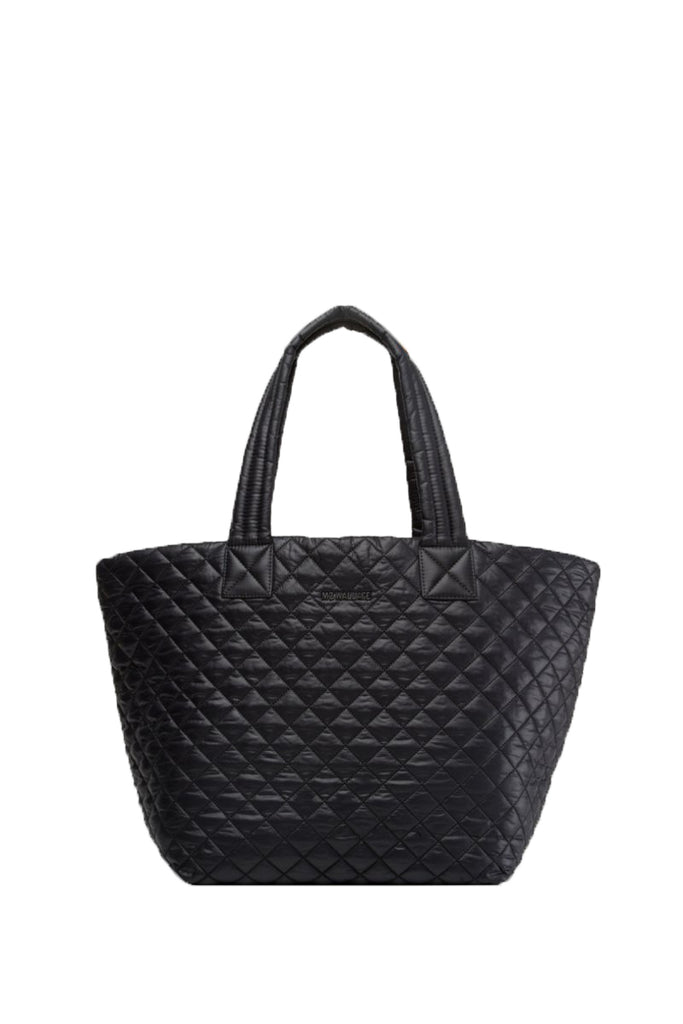 MZ WALLACE - MZ WALLACE Medium Metro Tote Black - SPORTLES.com