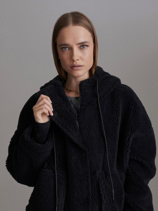 VARLEY Montalvo Coat Black | Shop Sherpa Jacket SPORTLES.com
