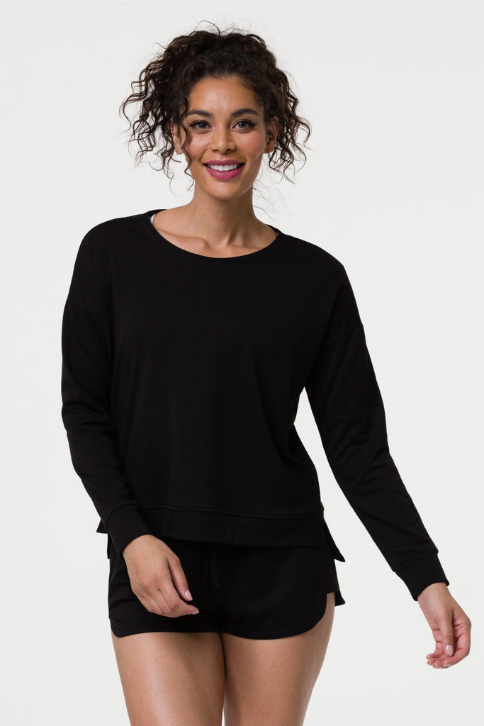ONZIE High Low Sweatshirt Black