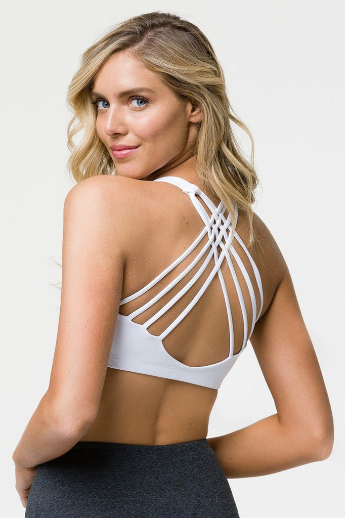 ONZIE Chic Bra White - SPORTLES.com