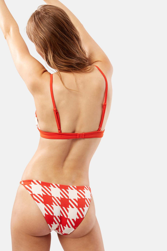 SOLID & STRIPE The Morgan Bottom Lipstick Gingham