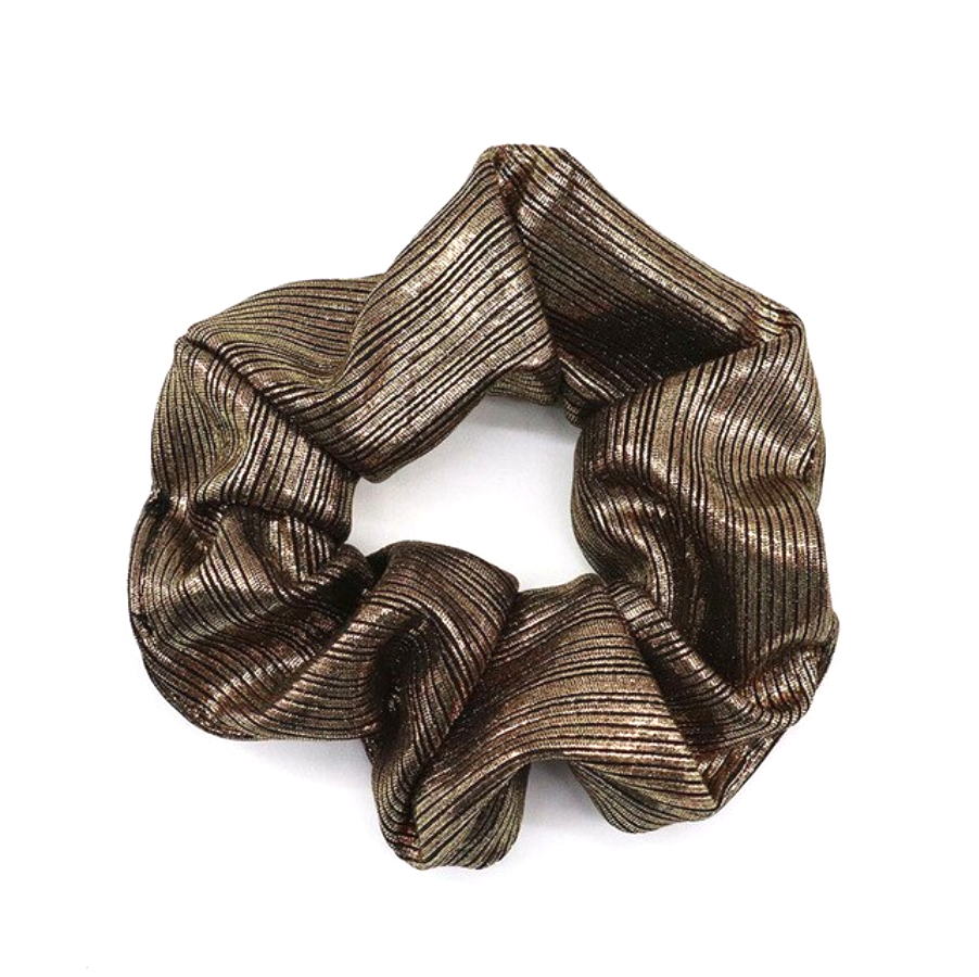 SPORT.LES - SPORT.LES Scrunchie Metallic Gold - SPORTLES.com