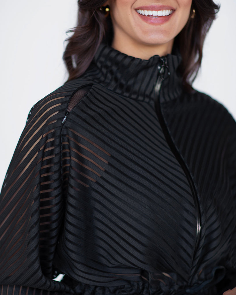 MICHI Shadow Jacket Black | Shop Premium Activewear at SPORTLES.com