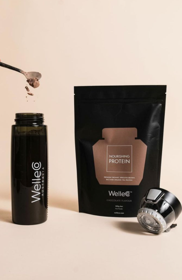 WELLECO Nourishing Protein Chocolate Refill | Shop Online Wellness & Beauty | SPORTLES.com