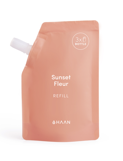 HAAN Hand Sanitizer Refill 100 ml Sunset Fleur | Shop at Sportles.com