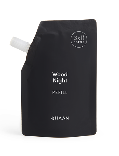 HAAN Hand Sanitizer Refill 100 ml Wood Night - Shop Online SPORTLES.com
