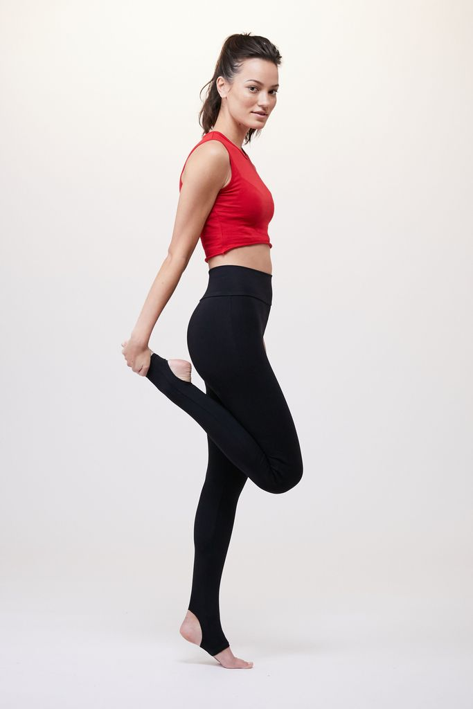 LIVE THE PROCESS - LIVE THE PROCESS Ballet Legging Black - SPORTLES.com