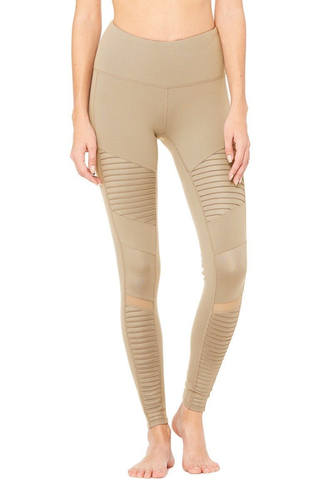 ALO YOGA High Waisted Moto Leggings - SPORTLES.com