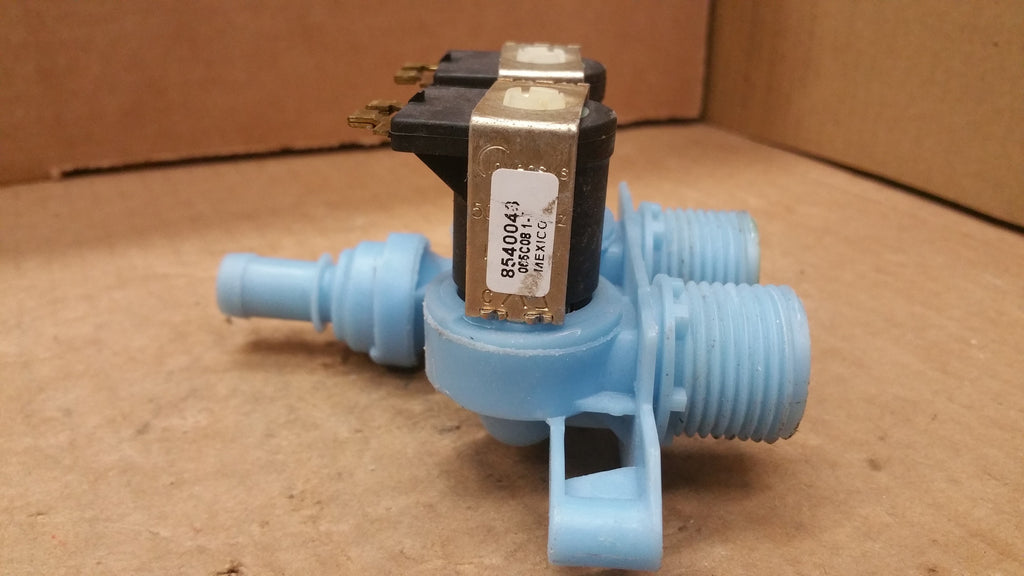 KENMORE WHIRLPOOL WASHER WATER INLET VALVE-  8540043/ WP8540751/ 854075/ 1 WP8540751VP
