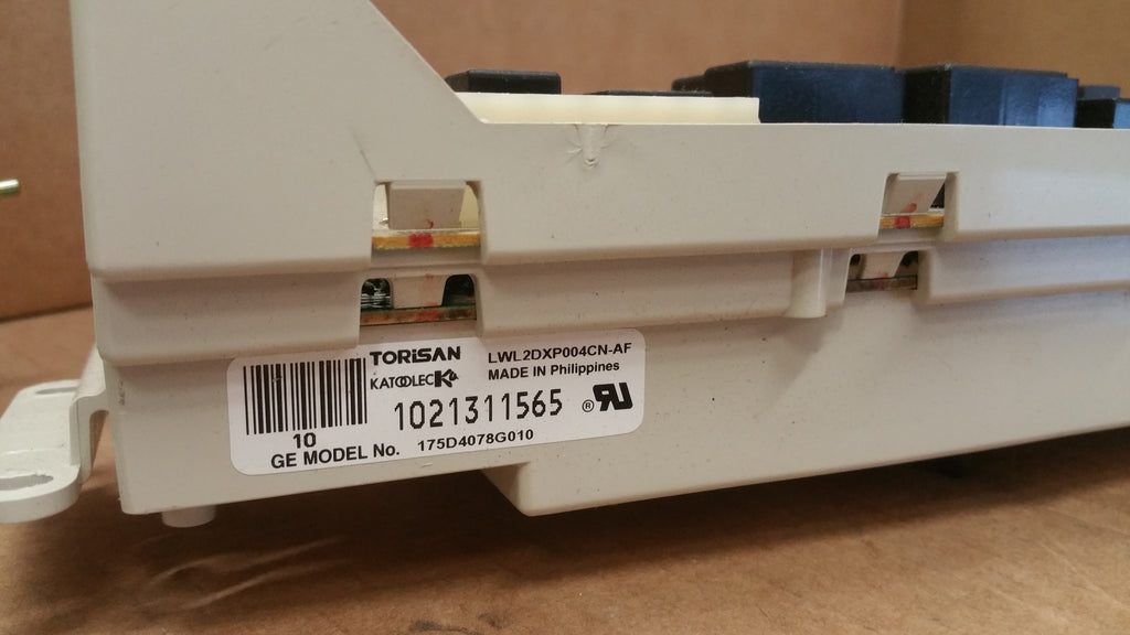 175D478G010 $39.99 GE Washer Contol Board Part # 175D478G010