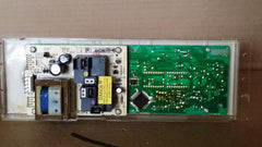 GE OVEN RANGE CLOCK TIMER CONTROL BOARD- WB27T10102/  WB50T10043