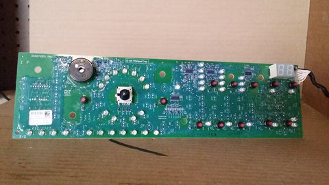 Whirlpool Kenmore Washer User Interface Control Board #W10252255