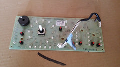 Whirlpool Maytag Washer Interface Control Board #W10252254