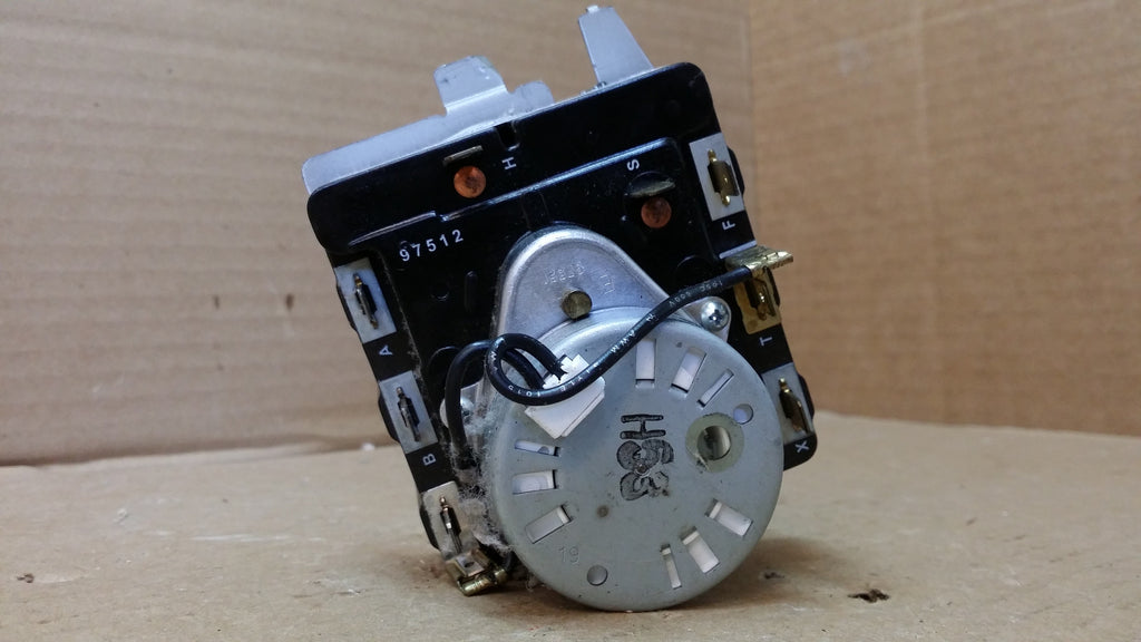 GE  HOTPOINT DRYER TIMER- 572D520P019/  WH12X10193
