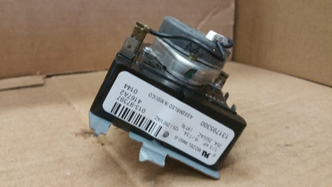 131795300 $12.95 WHIRLPOOL DRYER TIMER 131795300