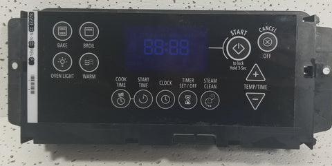 Whirlpool Range Control W10236275 w/ Black Touch Pad