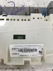 Whirlpool Dishwasher Control Board-  W1062913/  W10804118/  W10671757