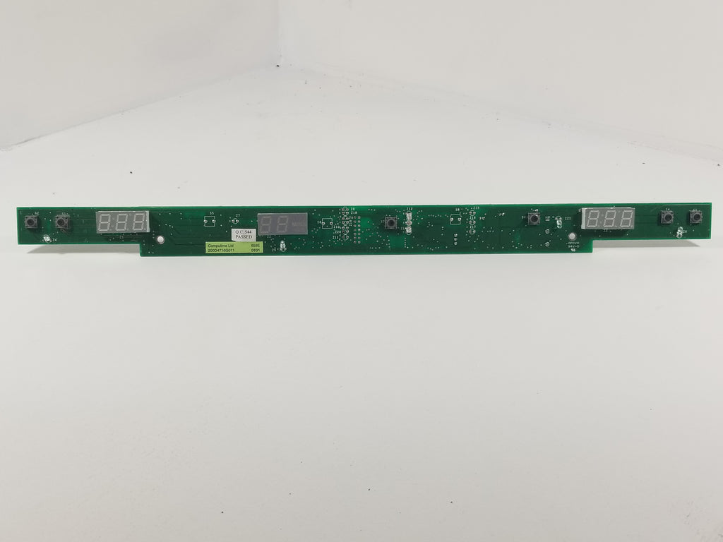 GE REFRIGERATOR INTERFACE CONTROL BOARD 200D4716G011