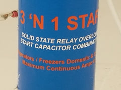 Supco  3 'N 1 Relay Overload and Start Capacitor- E146162/ RC0410