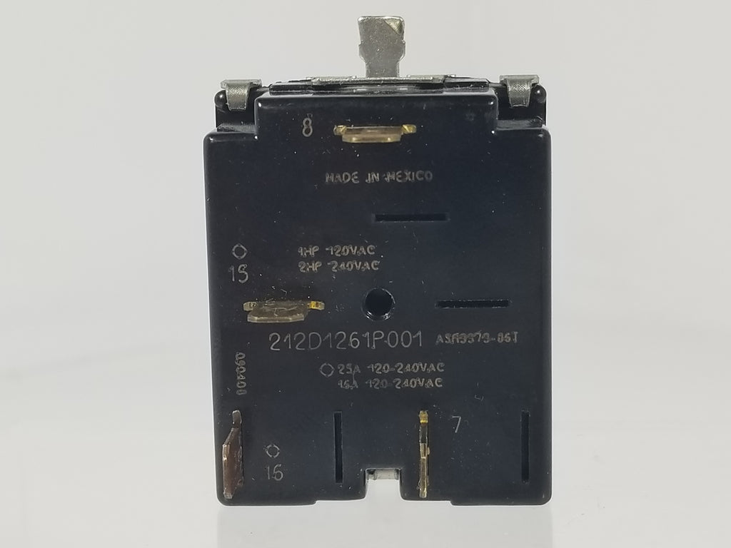 GE DRYER SWITCH-  212D1261P001