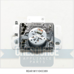BRAND NEW GENUINE REPLACEMENT FOR W11043389 AMANA / WHIRLPOOL TIMER 4461878 AP6040038 PS11773247