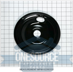 "Brand New Drip PAN, 8"" Black  93169205B WPW10290350"