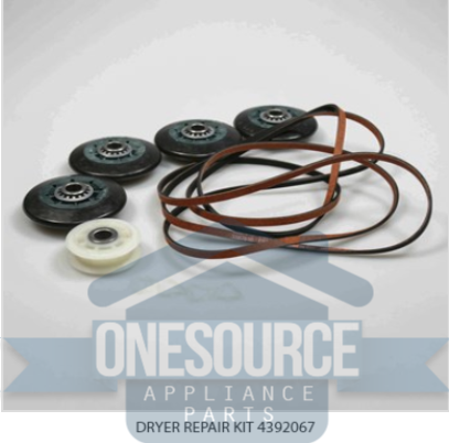 Brand New Genuine Repair Dryer Kit 4392067