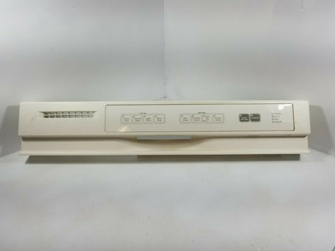 KITCHENAID DISHWASHER CONTROL PANEL W10055140 IN BISCUIT 8269140