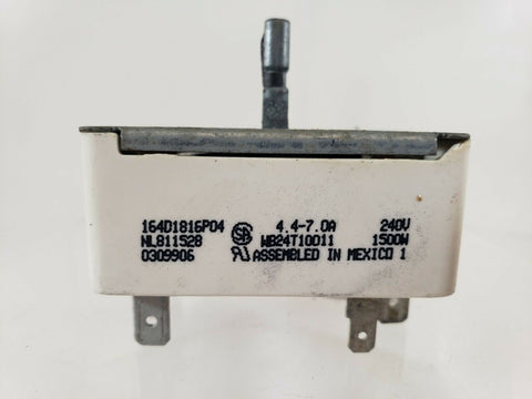 GENERAL ELECTRIC Range Oven Infinite Control Switch 164D1816P04 or WB24T10011