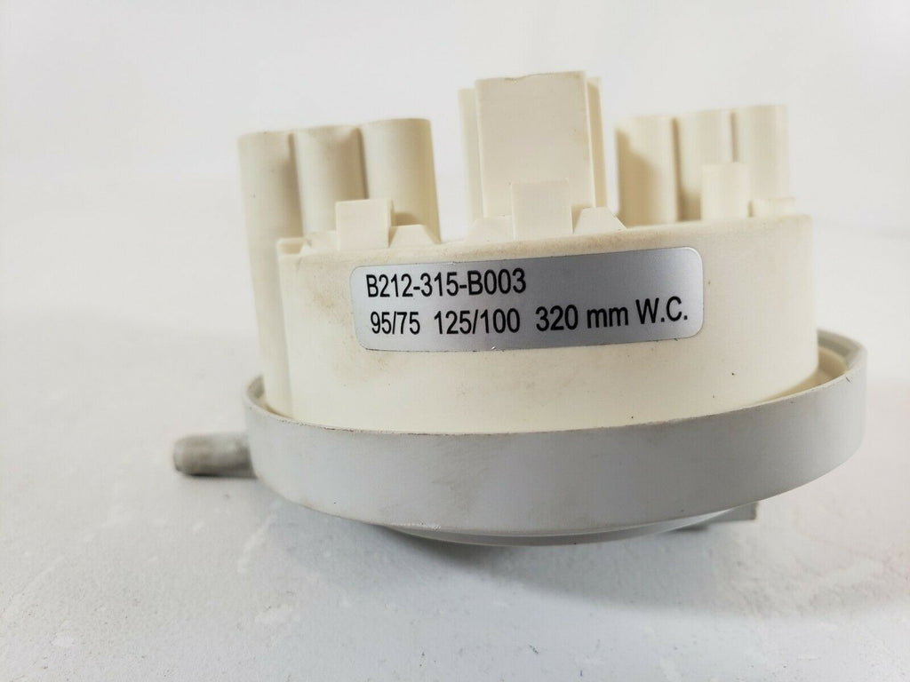 GE Washer Water Level Pressure Switch B212-315-B003