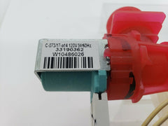 W10843663 Whirlpool Maytag Washer Water Inlet Valve