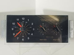 3148053 GE Oven Range Clock (Black) with Knobs
