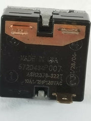 GE DRYER ROTARY SWITCH 572D434P007