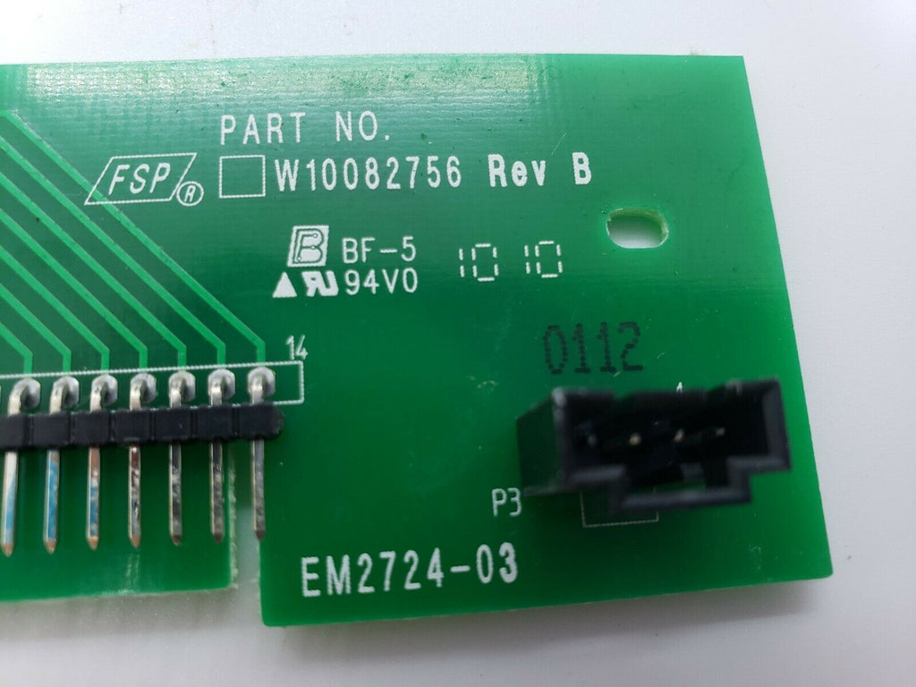 WHIRLPOOL PCB ASSEMBLY W10082756