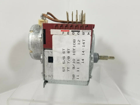 Eurotech Washing Machine Timer 516016401