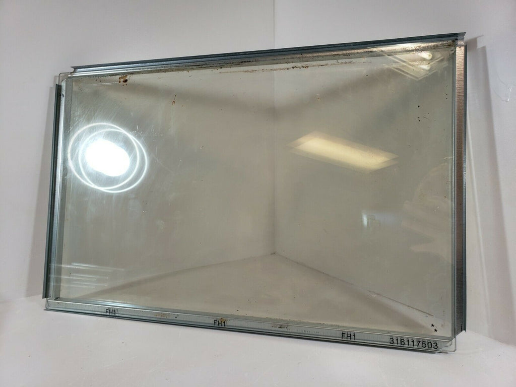 Range Oven Door Inner Glass 5304503232 & Middle Glass Spacer 530450