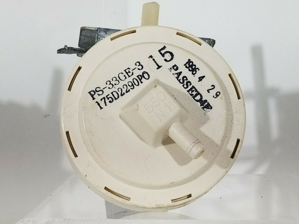 GE Washer Pressure Switch 175D2290P015